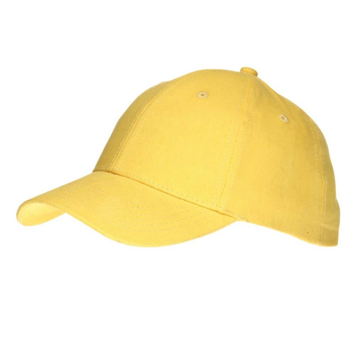 """Кепка """"Комфорт-Сайд"""" 690101 желтая"""