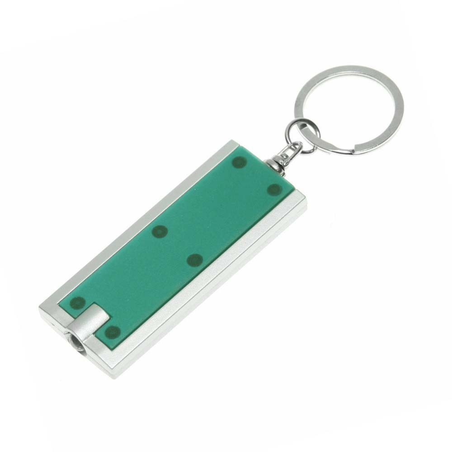Брелок-фонарик 901002 зеленый