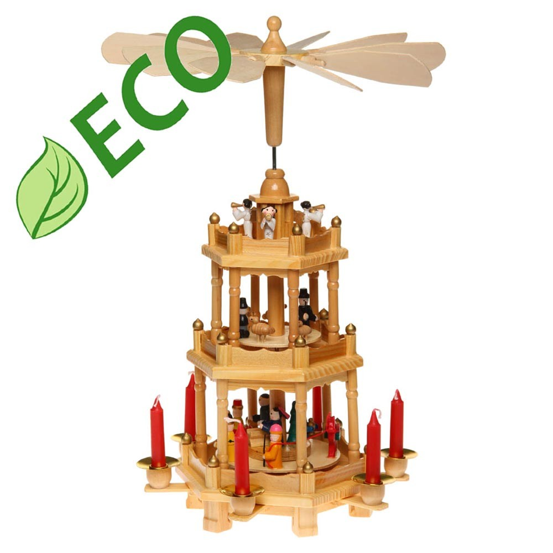 Карусель 907002 деревянная
