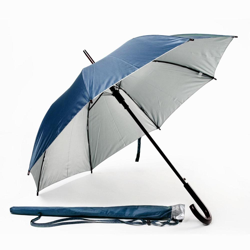 Зонт-трость 954011 синий