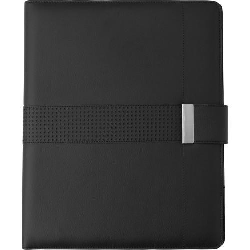Папка с блокнотом 3050-001 черная